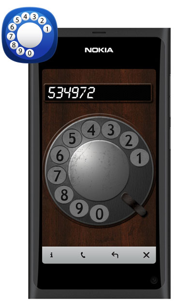 Rotary Dialer for Nokia N9