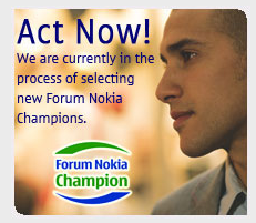 Forum Nokia Champion selection process