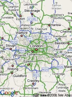 Google Maps static image sample