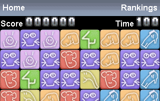 Iphone Animalogic puzzle game screenshot