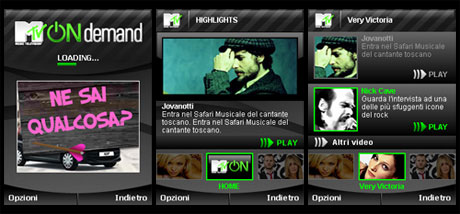 MtvOnDemand screenshots