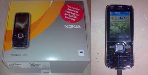 Nokia 6220 classic photos