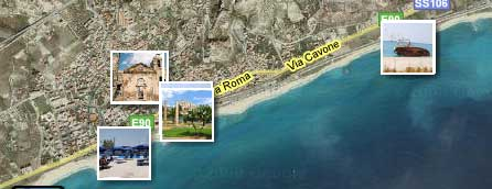 Roccella Jonica on Google Maps