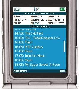 TvProgrammi mobile